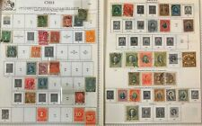 Lot of Chile Old Stamps Used/MH
