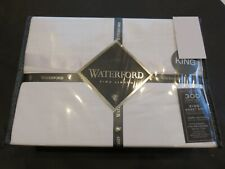 Waterford Kennedy Luxury 4P Queen sheet set White