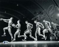 BOB COUSY SIGNED AUTOGRAPHED 8x10 PHOTO BOSTON CELTICS LEGEND RARE BECKETT BAS