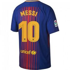NEW Official 2017/18 Adults Barcelona Home Jersey with Messi Printing