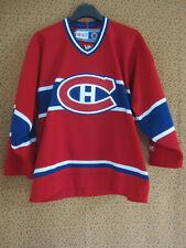 Maillot Hockey Glace Canadiens CCM Montréal Vintage Enfant - L / XL