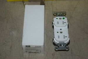 Hubbell 8300WLTRA Hospital Grade Pro Duplex Receptacle White 10 Pack