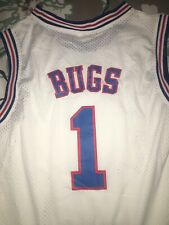New Bugs Bunny Space Jam Jersey W Socks ! Authentic Real Perfect For Halloween!
