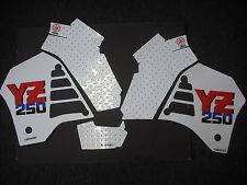 YZ250 1987 Rad & Tank Decals Graphics Stickers YZ 250