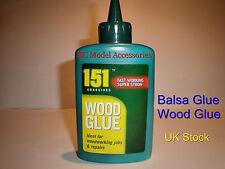 Balsa Wood Glue 151 Wood Glue Strong 120g Bottle Non Toxic