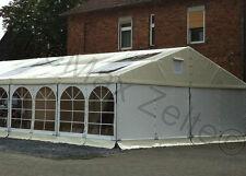 Festzelt Partyzelt Hochzeitszelt Eventzelt 6x3m / creme - weiß