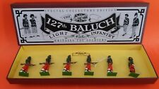 BRITAINS SET 8833 / ARMEE DES INDES  127th BALUCH REGIMENT D'INFANTERIE