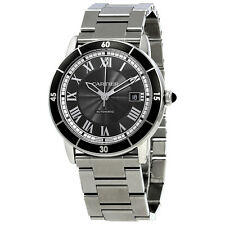 Cartier Ronde Croisiere Automatic Grey Dial Mens Watch WSRN0011