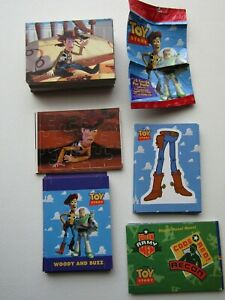 Toy Story 1995 Disney ~ Skybox Cards Activity Construction Card Variants (e34)