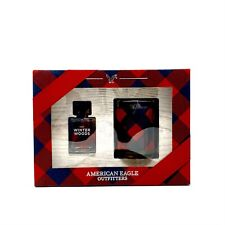 American Eagle Outfitters Gift Set AEO Winter Woods Eau De Cologne .5 & Candle