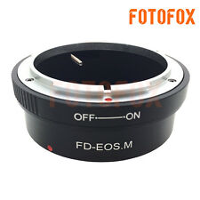 FD-EOS M Canon FD Mount Lens To Canon EOS M EF-M Mirrorless Digital Camera