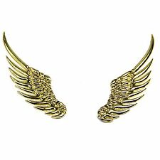 3D Alloy Gold Metal Angel Hawk Wings Emblem Badge Decal Car Logo Sticker