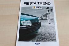 112471) Ford Fiesta - Trend - Prospekt 10/1994
