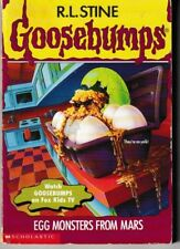 Goosebumps #42: Egg Monsters from Mars - PB 1996 R. L. Stine