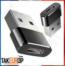 Adaptateur USB 3.1 Type C femelle vers USB 3.0 A male Takeurop