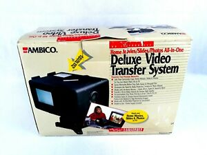 Ambico V-0650 Deluxe Video Transfer System Movie Editing