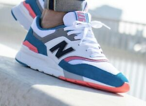 New Balance 997 Deep Ozone Blue Suede Usa  CM997HCS Mens size 13 NEW Miami Beach