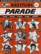 IWA Wrestling Program (1975, NJ) Mil Mascaras, Ernie Ladd, Tex McKenzie, Mongols