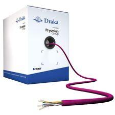 Nuevo Draka UC400 CAT6 Cable Violeta HDBaseT Certificado U/UTP 4 par 8 núcleos LSZH