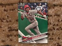 Lot of (10) 2017 Topps Update Magneuris Sierra Cardinals Rookie RC #101