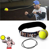 MMA Boxing Fight Ball With Head Band For Reflex Speed Training Punching Exercise