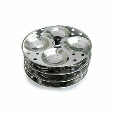 STAINLESS STEEL IDLI COOKER STAND MAKER KITCHEN APPLIANCES (Fast Shipping)