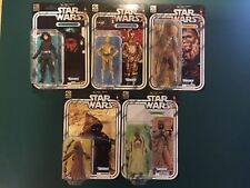 """Star Wars 40th Anniversary Wave 2 6"""" Figures Set of 5 NEW SEALED"""