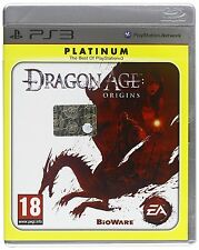 SONY PLAYSTATION 3 PS3 DRAGON AGE ORIGINS PLATINUM PAL ITALIANO COMPLETO