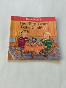 American Girl Doll Retired Bitty Twins Fair Isle Skirt Outfit Bake Cookies Book