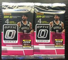2019-20 Panini Donruss Optic NBA Basketball PRIZM HOT Lot of 2 Packs Zion Ja
