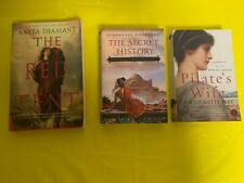 3 romantic Novels -The Red Tent, The Secret History & Pilates's Wife