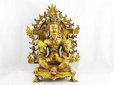 VERY RARE VINTAGE BRONZE TIBETAN BUDDHA W/ DETACHABLE PLATE, EXCELLENT CONDITION