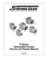 Pump PG-1GAP-DY1X-XXXX/103-1943/BDP-10A-433 Hydro Gear Oem for transaxle or tran