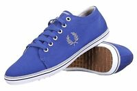 Fred Perry Kingston Twill Plimsolls Trainers Pumps Casual Shoes B6259-C45