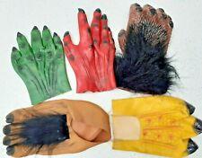 Horror Halloween garras manos y pies Monster Guantes De Cubiertas De Zapatos Vestido de fantasía