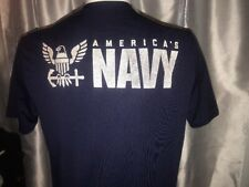 Department of the Navy America's Navy Large 42-44 USA made T-Shirt Microfiber
