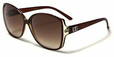DG's Elegant Brown Retro Vintage Butterfly  Eyewear Womens Designer Sunglasses