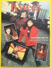 Jeanne Baker FASHION TELEVISION Chicago Tribune TV Week guide Nov 22 1992