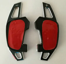 DSG alu Boutons balancent prolongation-Palettes Pour Golf 7 R GTI GTD GTE Noir