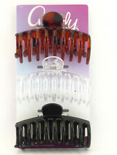 GOODY LARGE SPIRAL CLAW HAIR CLIPS - 3 PCS. (32921)