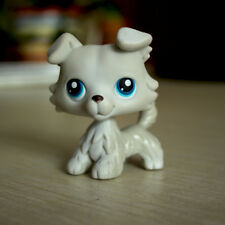 Littlest Pet Shop LPS Toys #363 White Collie Dog Puppy With Blue Eyes Girl Gift