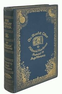 Nathaniel Hawthorne: The Scarlet Letter Illustrated by Hugh Thomson 1920 Edition