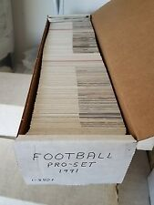 1991 Pro-Set Football Card Complete Set (1 -850) Near Mint to Mint READ (AYC)
