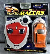 MICRO BLAST RACERS THUNDER-X REMOTE CONTROL CAR MGA ENTERTAINMENT NEW SEALED PKG