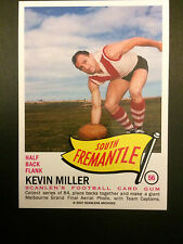 Scanlens Archives 1966 Pennant  Kevin Miller South Freemantle  #56