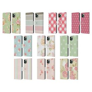 HEAD CASE DESIGNS FRENCH LEATHER BOOK CASE & WALLPAPER FOR APPLE iPHONE PHONES