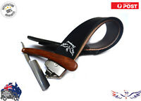 Leather Razor Strop Shaving Sharpener Strap Barber Straight Razor Knife Belt