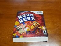 Boom Blox Not For Resale NFR Demo Disc (Nintendo Wii) TESTED Rare