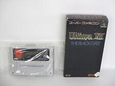 Super Famicom ULTIMA VII 7 The Black Gate No Instruction bcn Nintendo Japan sf