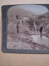 Stereo View Card - Canada Klondike Gold Miners